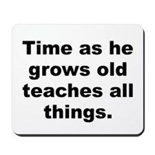 Funny Teaching time Mousepad