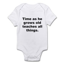 Funny Teaching time Infant Bodysuit