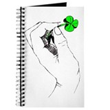 Shamrock in Hand Journal