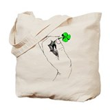 Shamrock in Hand Tote Bag
