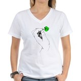Shamrock in Hand Shirt