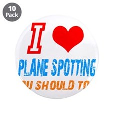 "Cute Love to shop 3.5"" Button (10 pack)"