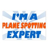 Plane spotting Expert Postcards (Package of 8)