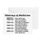 History of Medicine Greeting Card