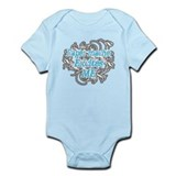 Paper mache Excites Me Infant Bodysuit