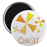 "Cheese! 2.25"" Magnet (10 pack)"