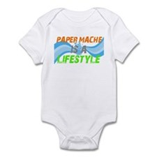 Paper Mache is a lifestyle Infant Bodysuit