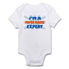 im a paper mache expert Infant Bodysuit