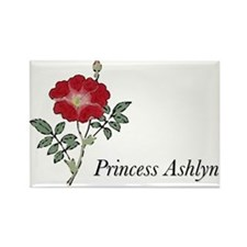 Cute Ashlyn Rectangle Magnet