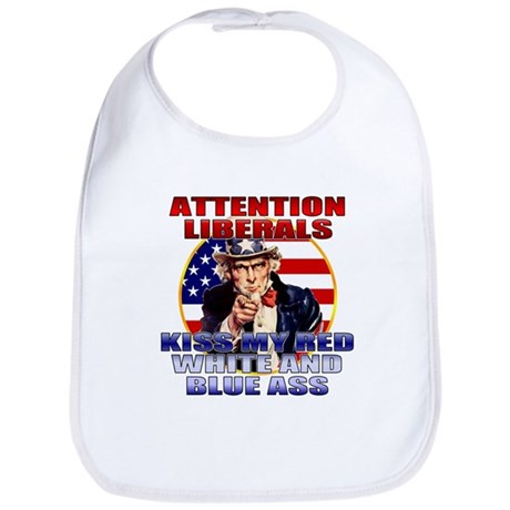 Uncle Sam Anti Liberal Bib