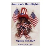 American's have rights Postcards (Package of 8)