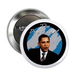 10 Barack Obama the President Buttons