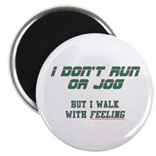 "Walking With FEELING 2.25"" Magnet (100 pack)"