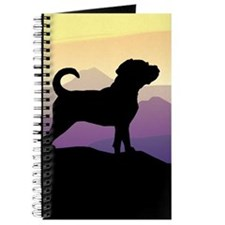 Purple Mountains Puggle Journal