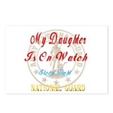 My Daughter Is On Guard Postcards (Package of 8)