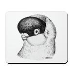 Helmet Shortface Pigeon Mousepad