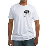 Helmet Shortface Pigeon Fitted T-Shirt