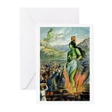 Death of the Green Fairy Greeting Cards (Package o