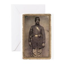 Civil War Soldier on Greeting Cards (Pk of 10)