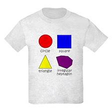 Shapes for Smart Babies Kids Light T-Shirt