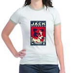 Obey the Jack Russell! Jr. Ringer T-Shirt