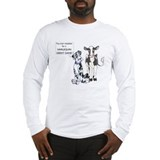 N Great Dane & Cow Long Sleeve T-Shirt