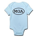 MGA Oval Infant Bodysuit