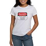 Elbow Armed Massage Therapist Women's T-Shirt