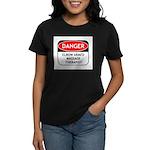 Elbow Armed Massage Therapist Women's Dark T-Shirt