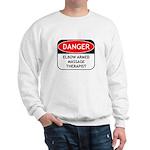 Elbow Armed Massage Therapist Sweatshirt