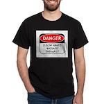 Elbow Armed Massage Therapist Dark T-Shirt