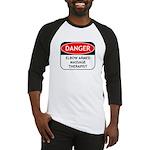 Elbow Armed Massage Therapist Baseball Jersey