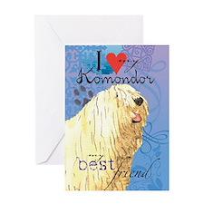 Komondor Greeting Card