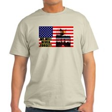 """We Will Never Forget!"" Color T-Shirt"