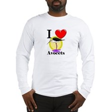 I Love Avocets Long Sleeve T-Shirt
