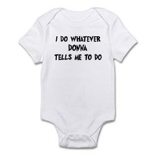 Whatever Donna says Infant Bodysuit