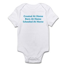 At Home Boy Infant Bodysuit