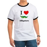 I Love Alligators T