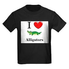 I Love Alligators T