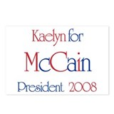 McCain for President - Kaelyn Postcards (Package o
