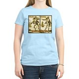 Anne Bonny &amp; Mary Read Women's Pink T-Shirt