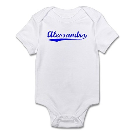 Vintage Alessandro (Blue) Infant Bodysuit