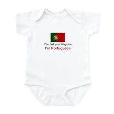 Portuguese Linguica Infant Bodysuit