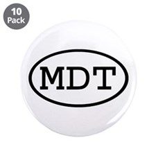 "MDT Oval 3.5"" Button (10 pack)"