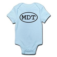 MDT Oval Infant Bodysuit