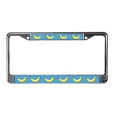 Banana License Plate Frame