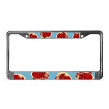 Meat License Plate Frame