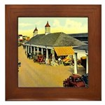 New Orleans Art Framed Tile