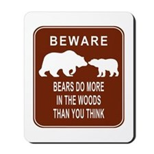 Bears in the Woods Mousepad