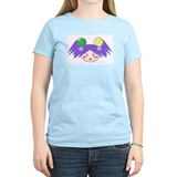 Cute Iconic WhoGirl Woman T (Carly Monardo design